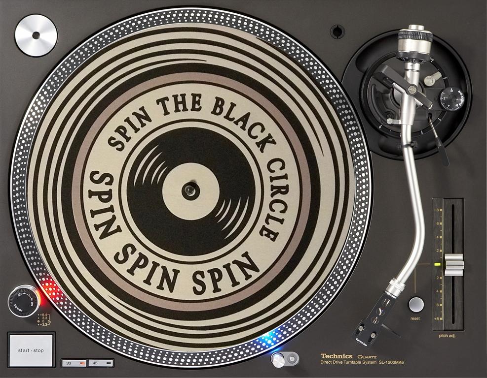 слипмат с надписью Spin