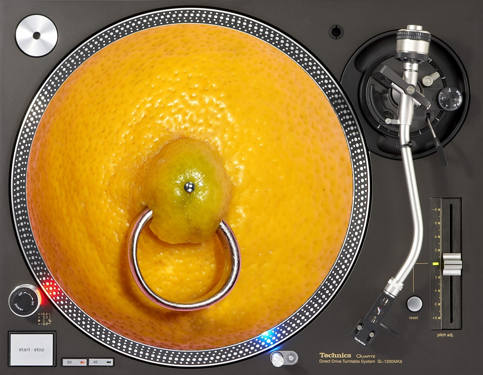 слипмат с изображением лимона