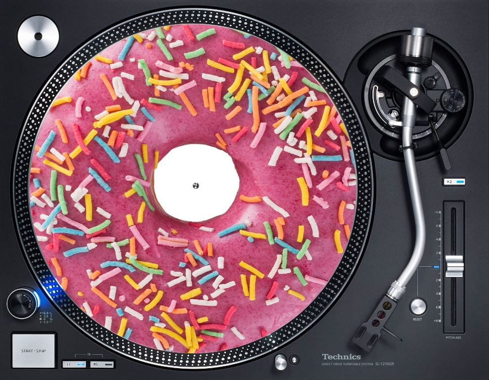 слипмат розовый пончик