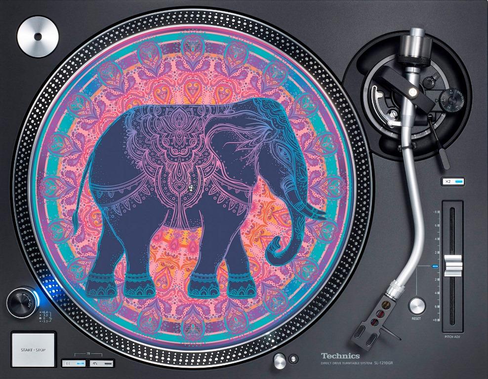 слипмат с рисунком слона